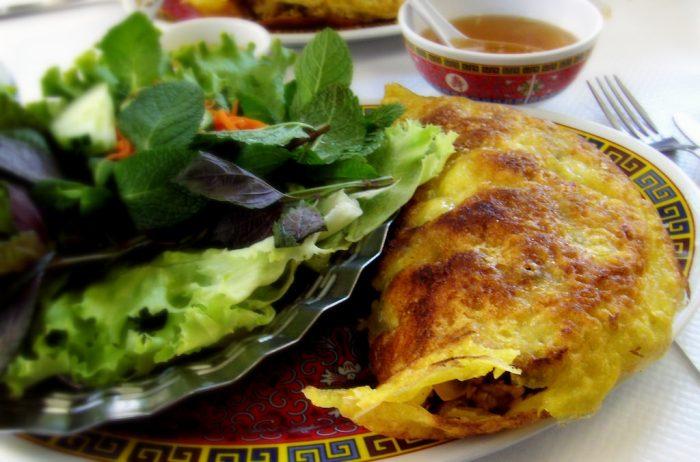 Crispy Vietnamese Crepes