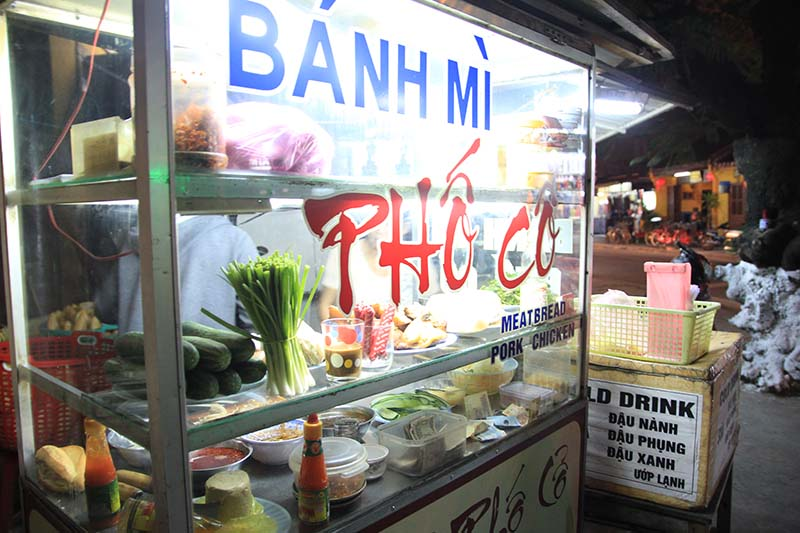 Where to eat Hoi An bread, Hoian banh mi restaurants