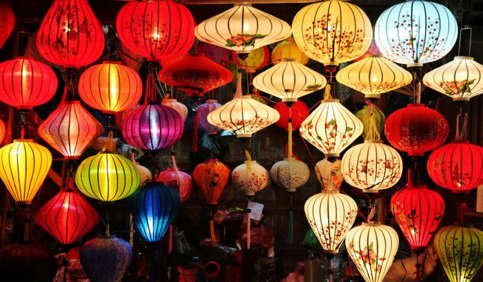 Lantern making class and Tra Que Bike Tour